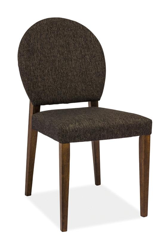 SIGNAL ALDO jedálenská stolička - tmavý orech