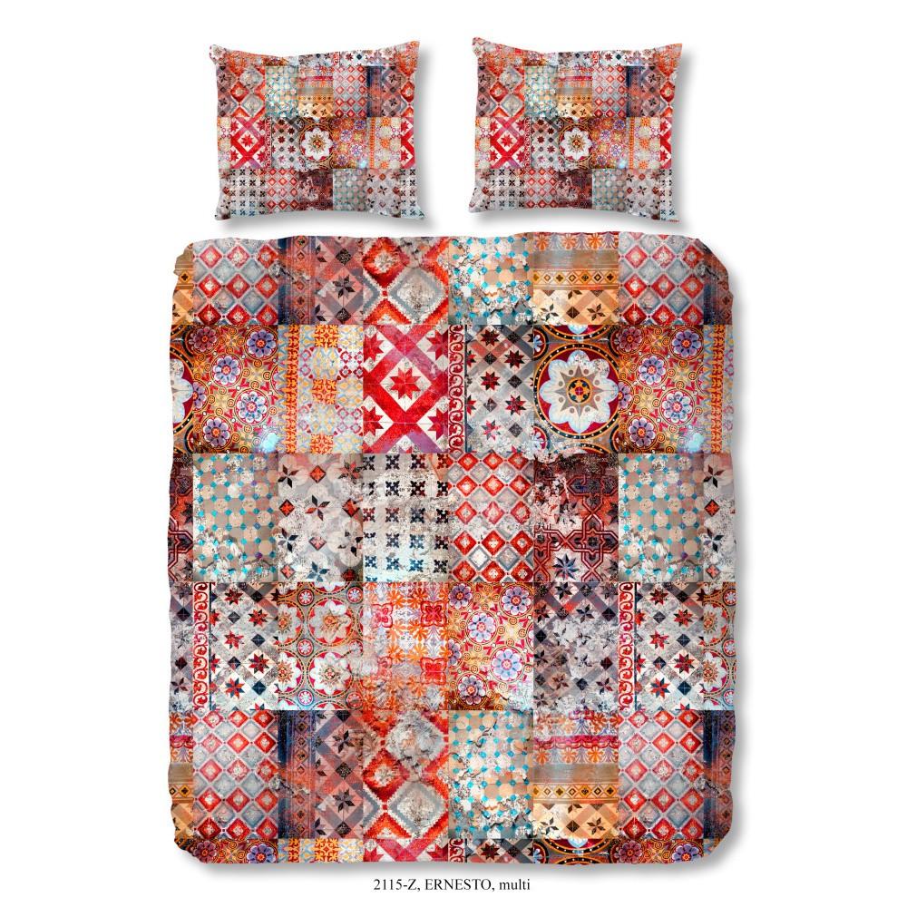 Obliečky na dvojlôžko z bavlneného saténu Muller Textiels Sahara, 200×200 cm