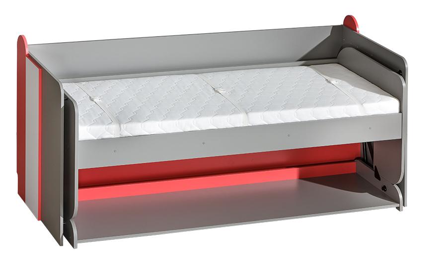 Jednolôžková posteľ 90 cm F14
