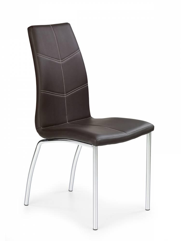Jedálenská stolička K114 hnedá