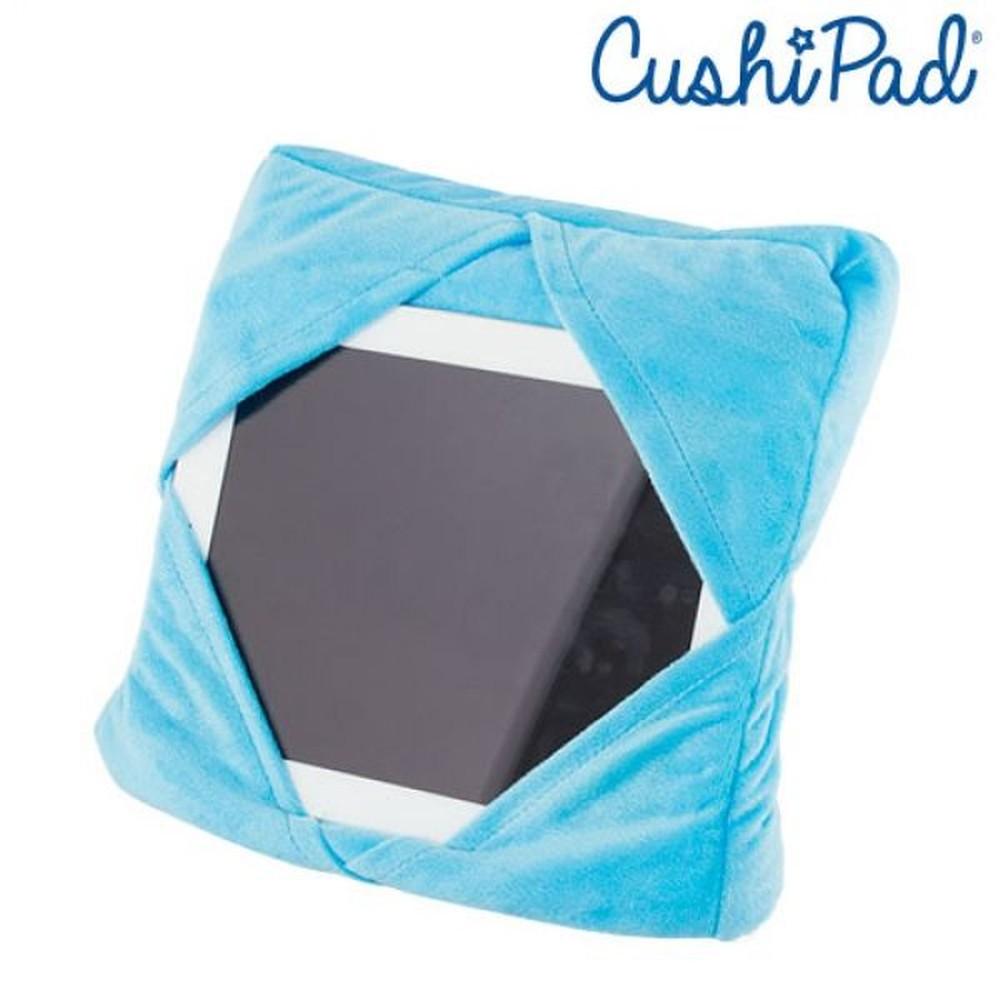 Modrý multifunkčný vankúš s držiakom na iPad InnovaGoods