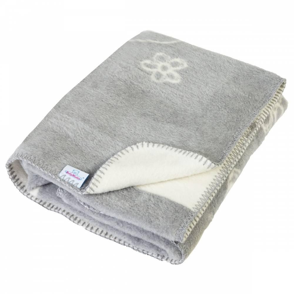 Babymatex Detská deka Teddy sivá, 75 x 100 cm
