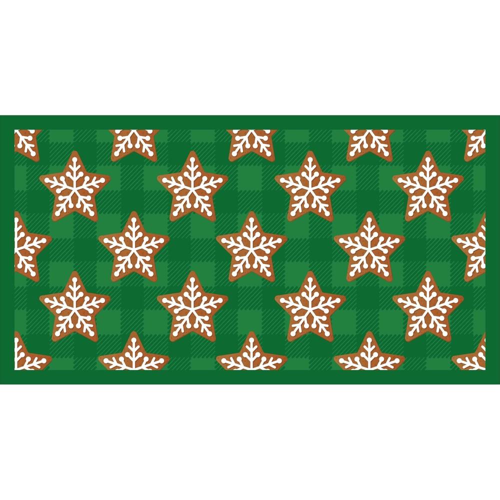 Kuchynský behúň Crido Consulting Gingerbread Christmas, dĺžka 100 cm