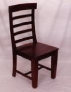 Furniture nábytok  Masívna stolička  z Palisanderu  Fírúze  48x50x105 cm