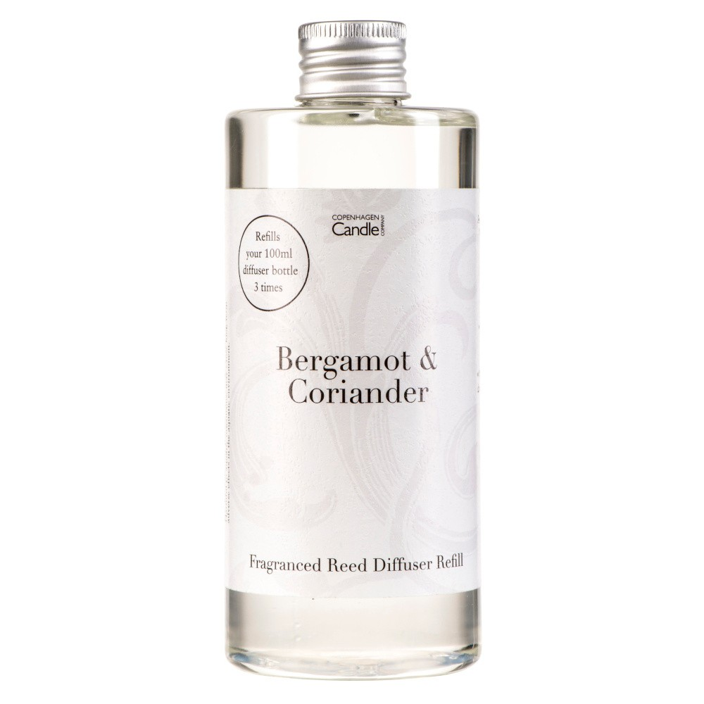 Náplň do aróma difuzéru Copenhagen Candles Bergamot & Coriander Home Collection, 300 ml