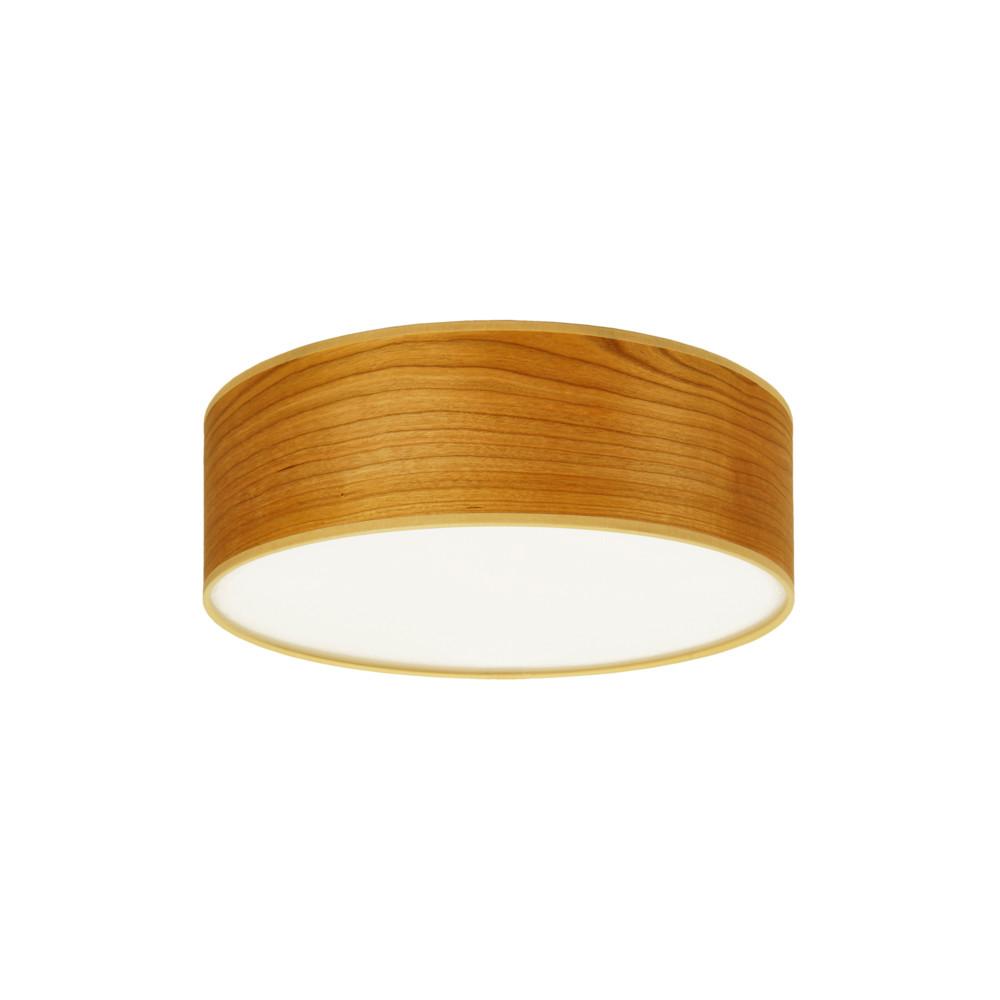 Stropné svietidlo vo farbe čerešňového dreva Sotto Luce Tsuru, Ø 30 cm