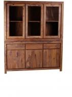 Furniture nábytok  Masívna knižnica / vitrína z Palisanderu  Nourúz  165x45x180 cm