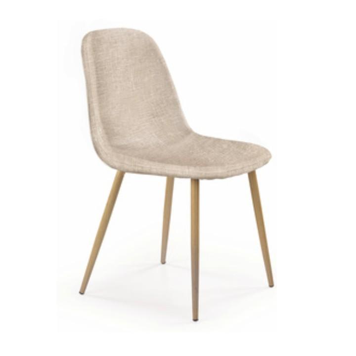 Jedálenská stolička Lega (krémova)