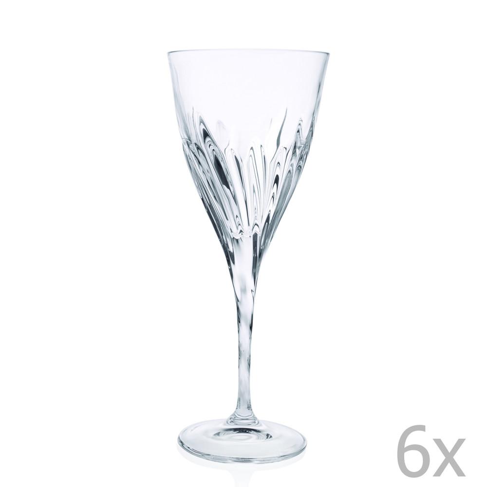 Sada 6 pohárov RCR Cristalleria Italiana Nerina