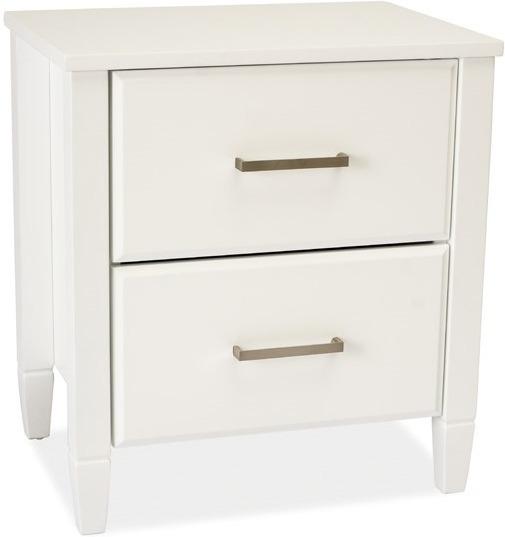 WIP LIZBONA nočný stolík - biela