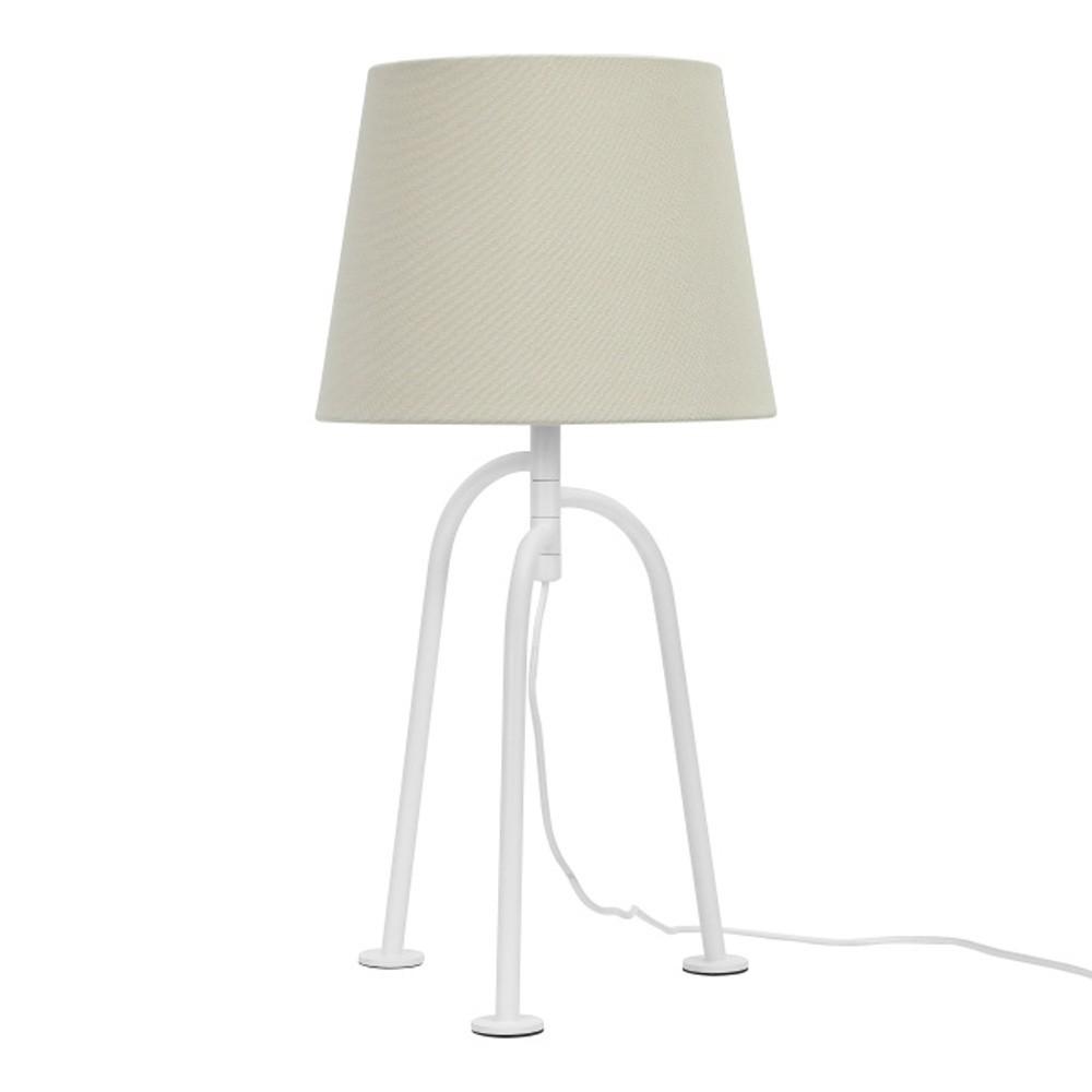 Biela stolová lampaGarageeightJay