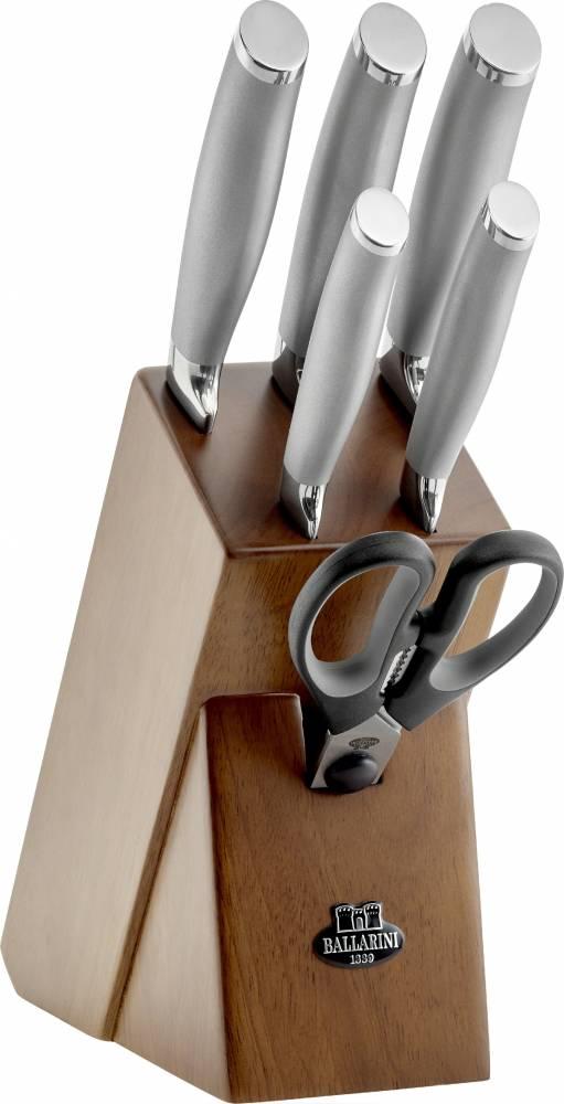 Sada nožov v bloku Tanaro Ballarini 7 ks