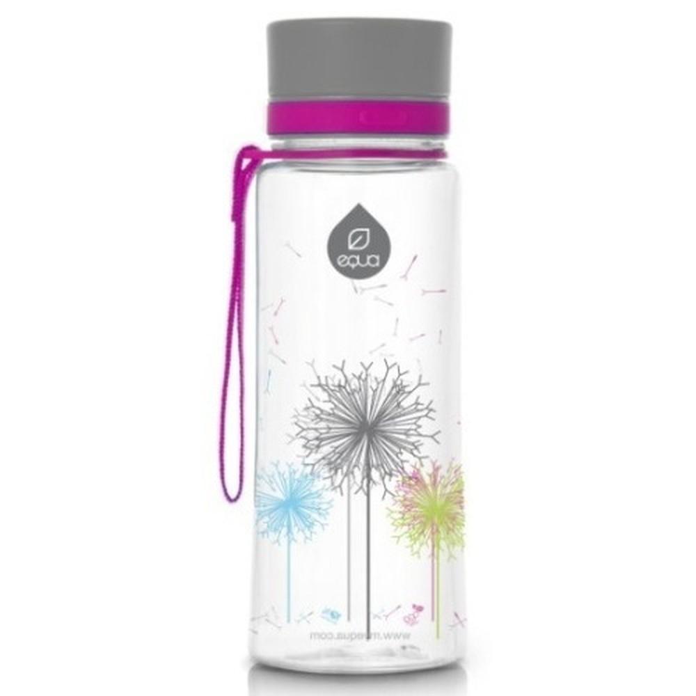 Plastová fľaša Equa Dandelion, 0,4 l