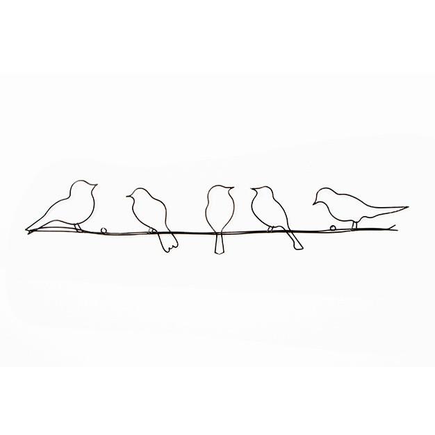 Nástenná dekorácia Graham & Brown Bird On Wire