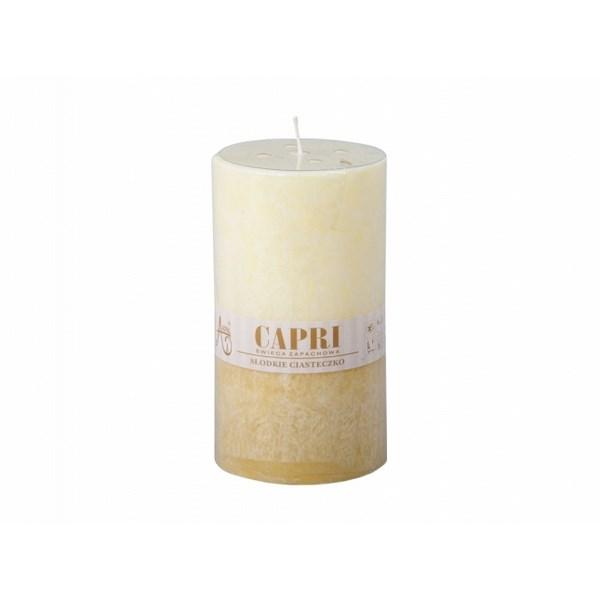 Stearínová sviečka Capri Duo Vanilka