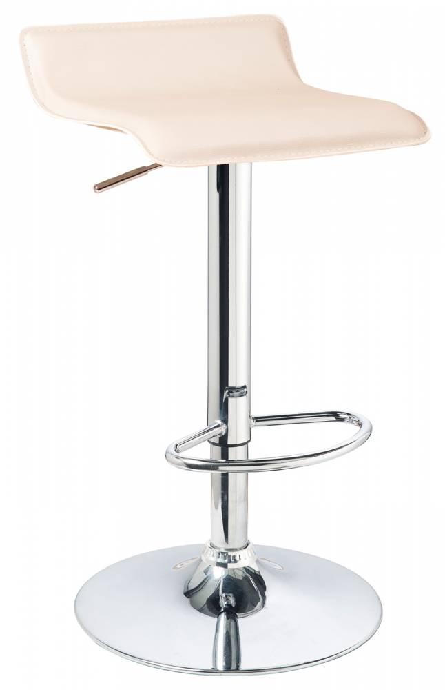 Barová stolička A-044 (ekokoža krémová)