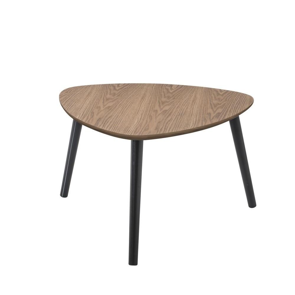 Hnedý konferenčný stolík Nomad