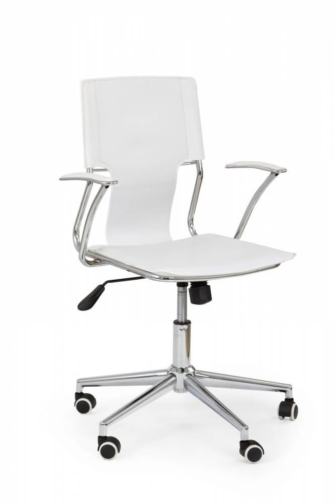 Kancelárska stolička Derby biela