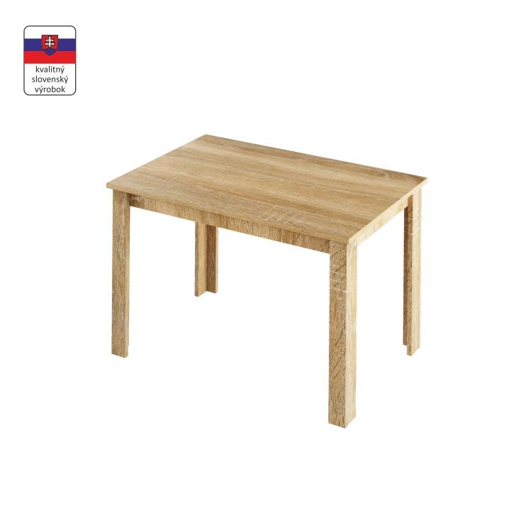 TEMPO KONDELA Jedálenský stôl, dub sonoma, LAURENCI