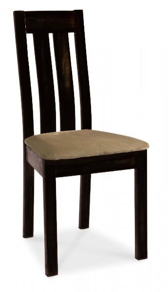 K-26 čalúnená jedálenská stolička, wenge