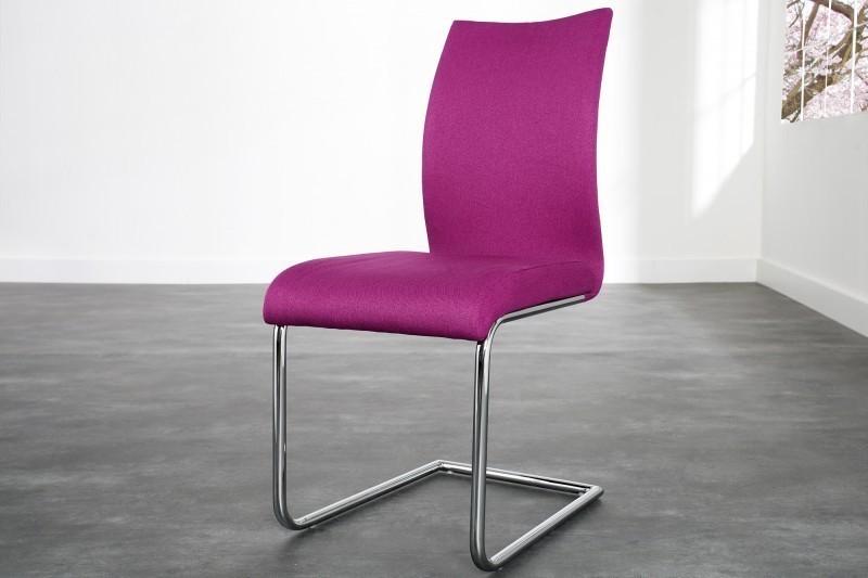 Jedálenská stolička SUAVE - ružová