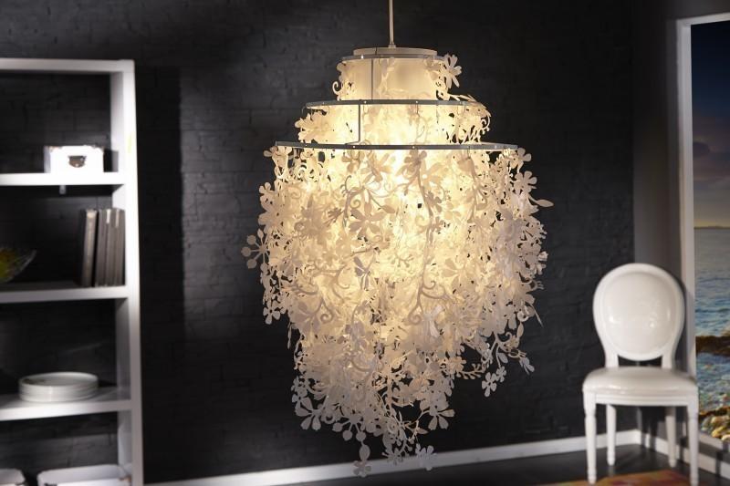 Visiaca lampa DORADO - biela