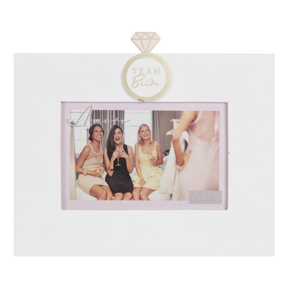 Rámik na fotografiu Amore Team Bride, na fotografiu 10×15 cm
