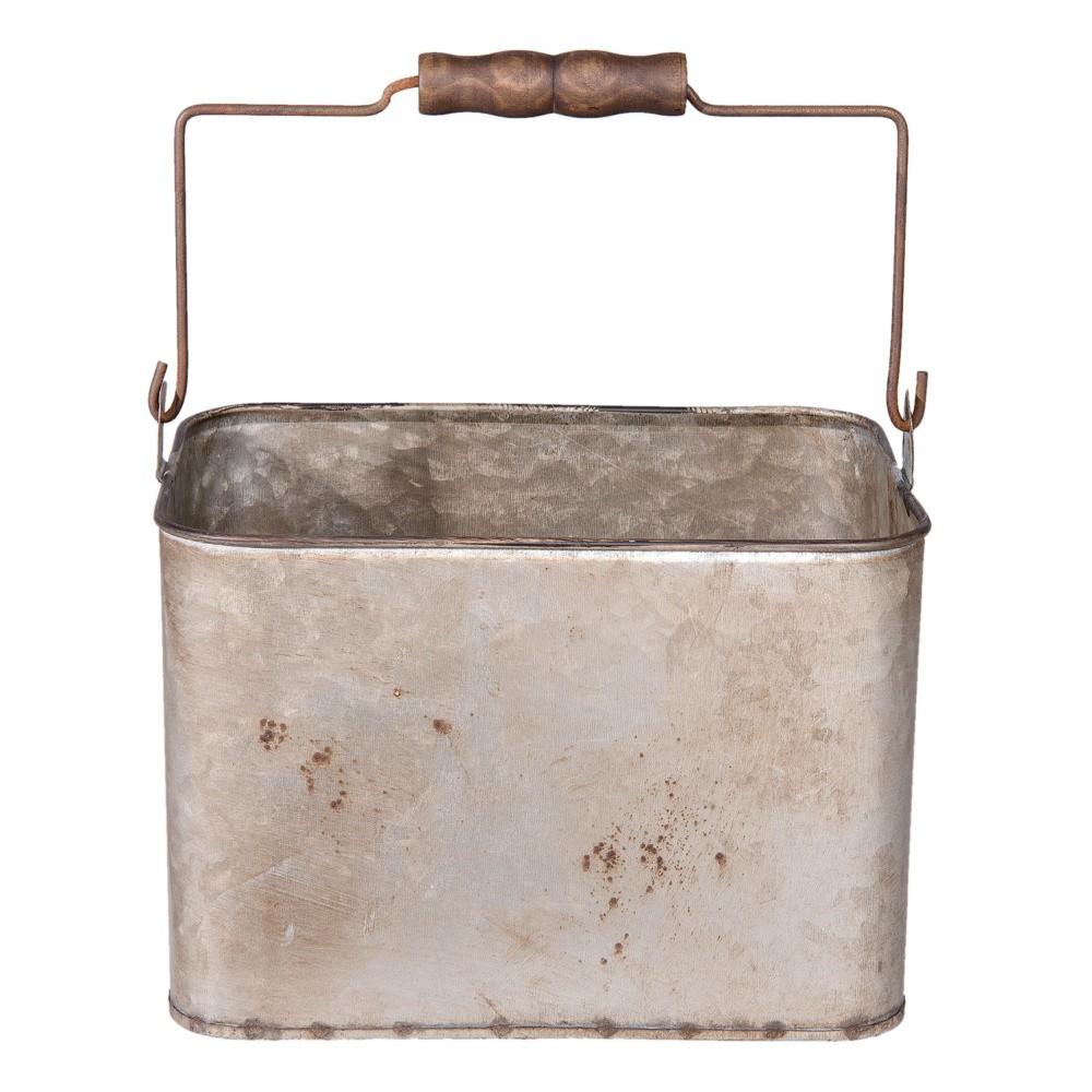 Kovový úložný box Clayre & Eef, 23×17cm