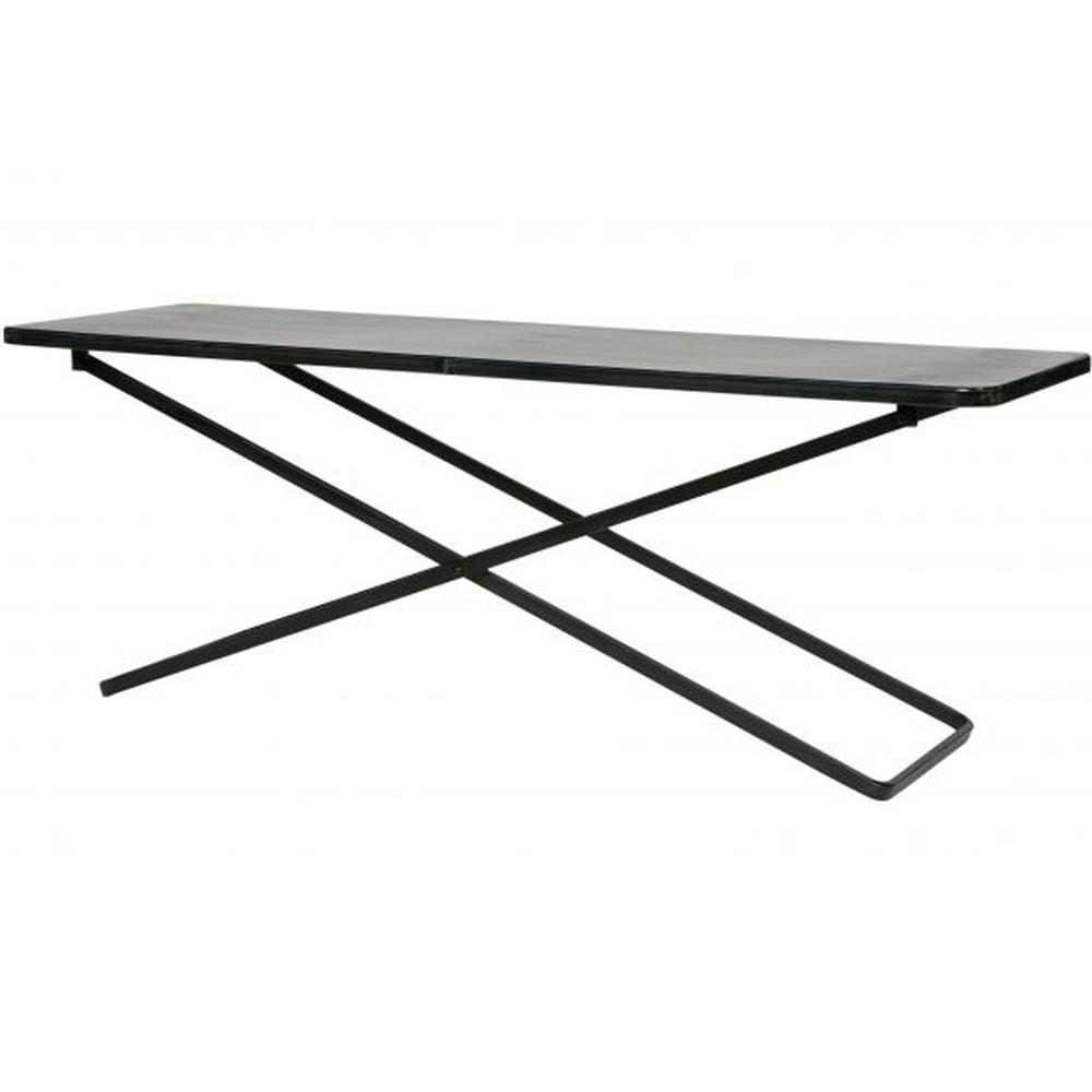 Konferenčný stolík vtwonen Crux, dĺžka 125 cm