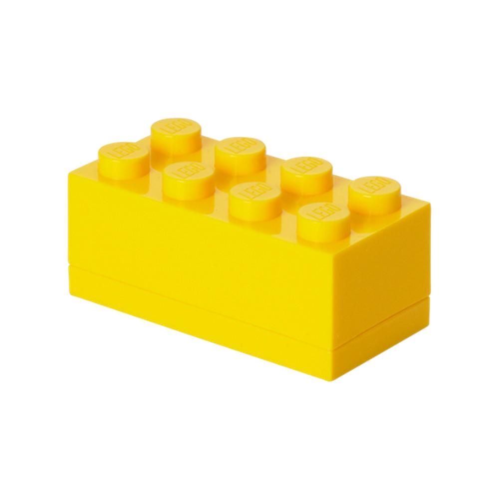 Žltý úložný box LEGO® Mini Box Yellow Lungo
