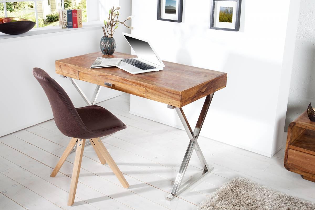 Písací stôl GRIS 120 cm - indický palisander
