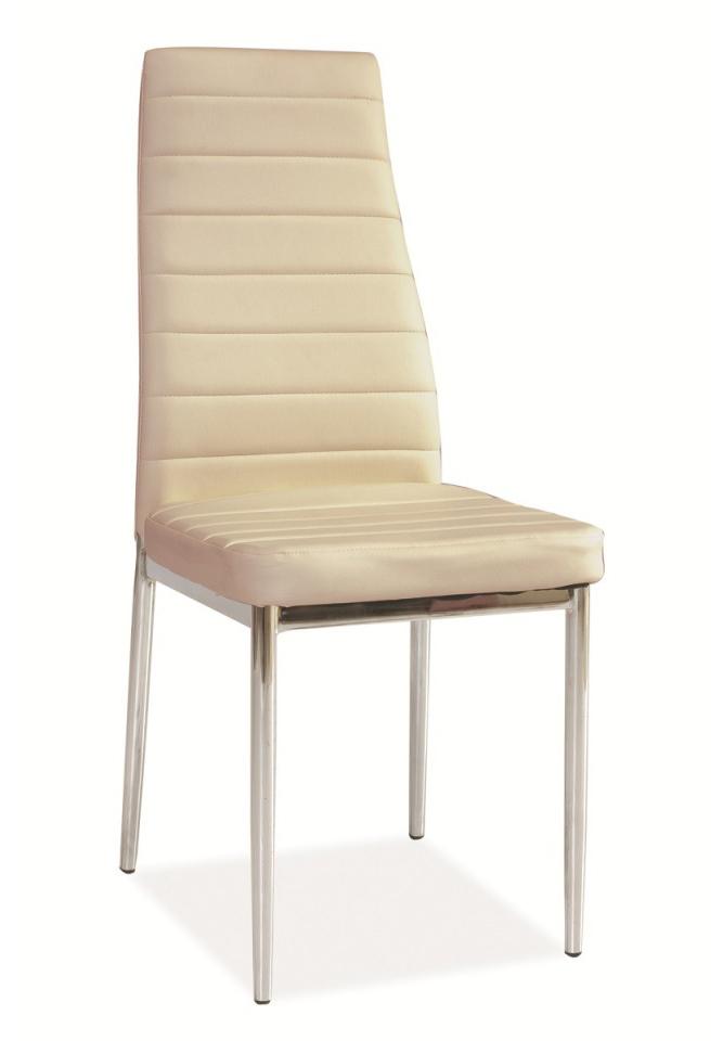 Jedálenská stolička H-261 krémová