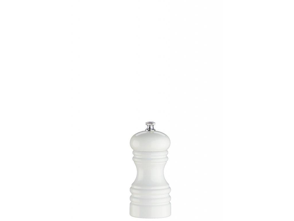 Mlynček na soľ Berlin Zassenhaus biely 12 cm