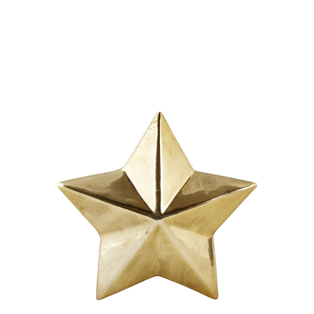 Dekoratívna hviezda KJ Collection Ceramic Gold, 3 cm