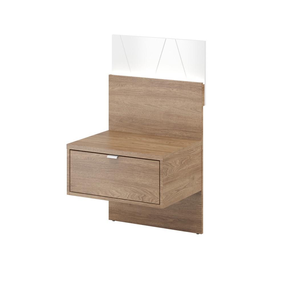 Nočný stolík v dekore orecha Szynaka-MebleZefir