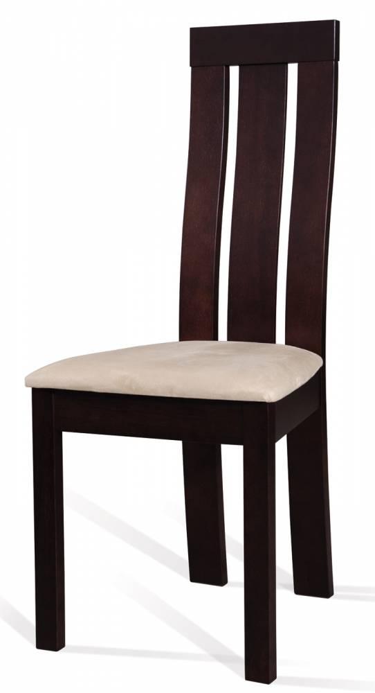 Jedálenská stolička C-27 (wenge + tap. M03)