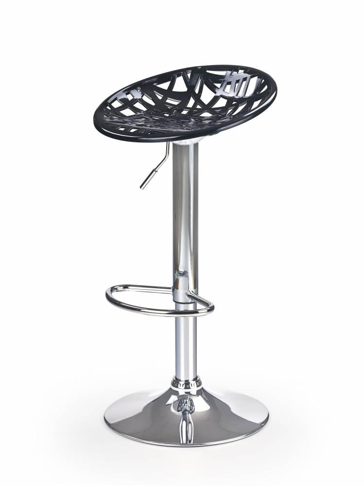 Barová stolička H-56 (čierna)