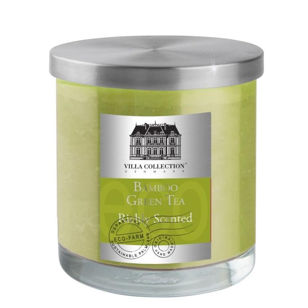 Sviečka s vôňou bambusového zeleného čaju Villa Collection