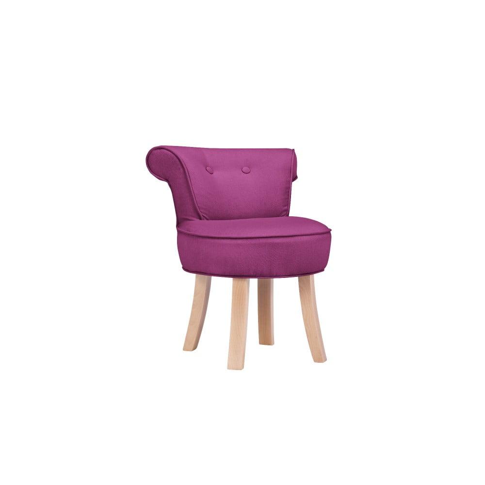 Fialová detská stolička KICOTI Sweety