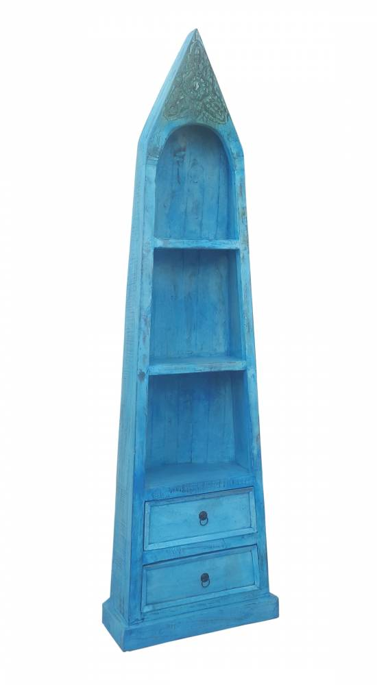 Regál AZUL - tyrkysová