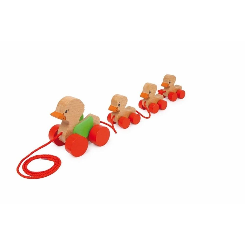 Drevená hračka Legler Duck Family