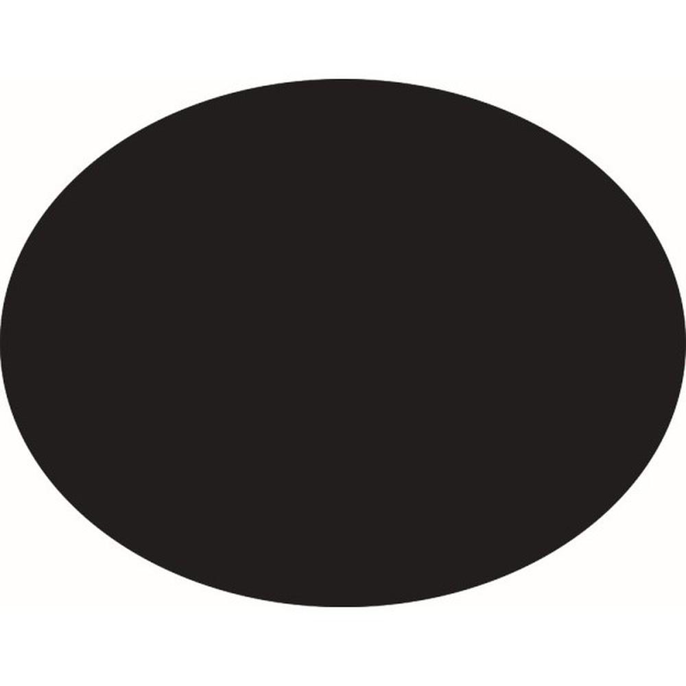 Set popisovacej tabule a kriedového popisovača Securit Silhouette Oval, 38 x 30 cm