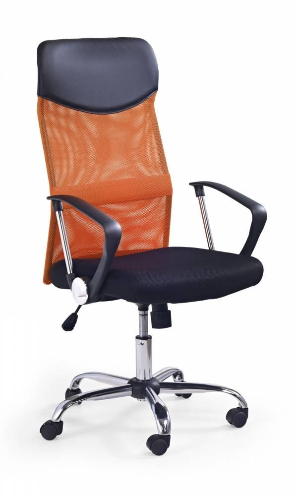 Kancelárska stolička Vire pomarančová