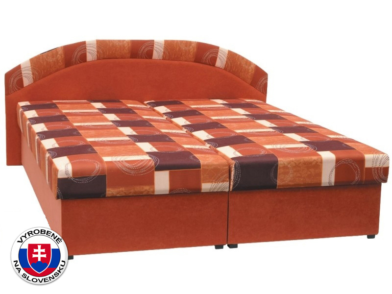 Manželská posteľ 180 cm Kasvo (s molitanovým matracom)