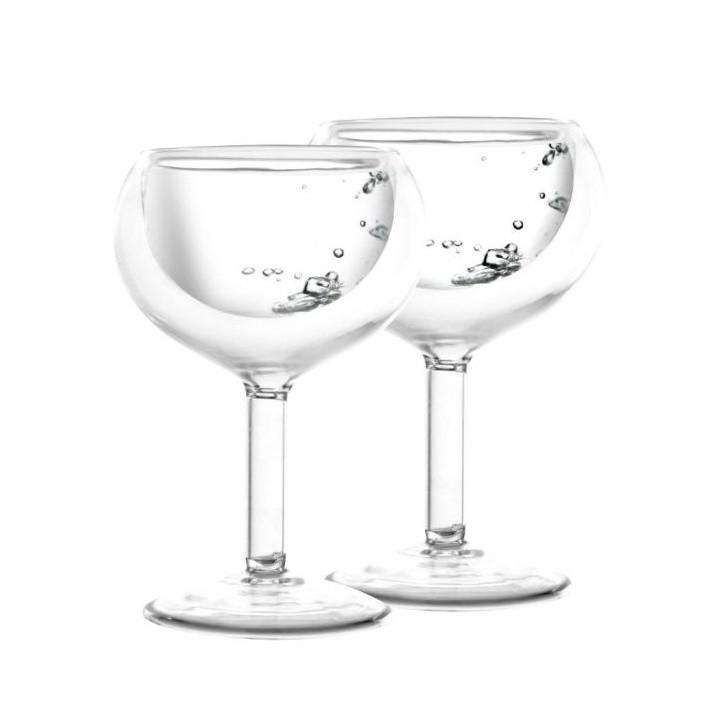Sada 2 dvojitých pohárov Vialli Design Amo Vodka, 30ml