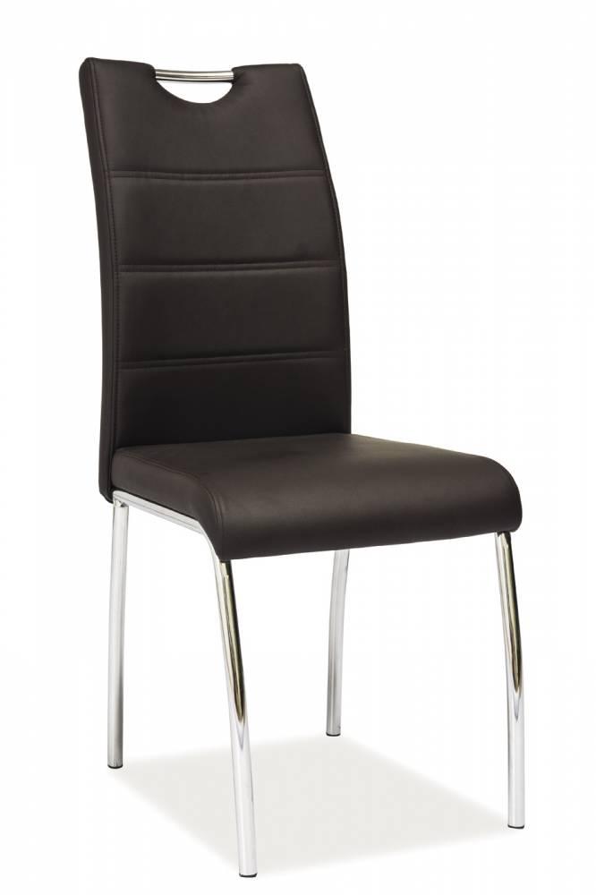 HK-822 jedálenská stolička, hnedá