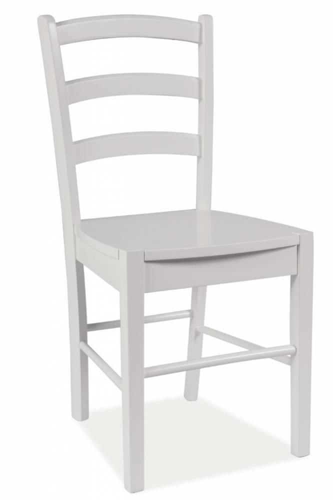 SIGNAL CD-38 jedálenská stolička - biela