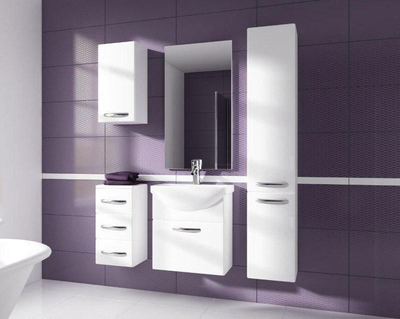 CORAL kúpeľňová zostava, biela