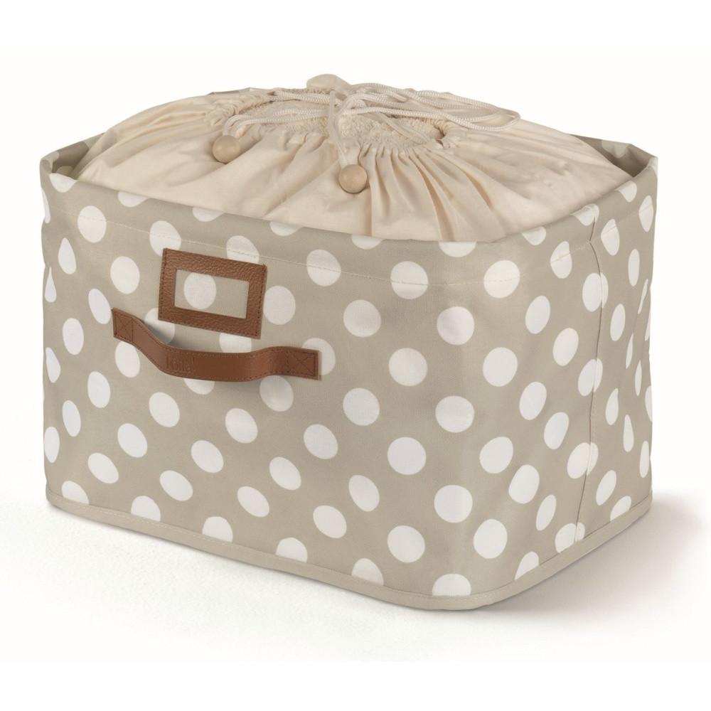 Sivý úložný box s uväzovaním Cosatto Jolie, 25 x 40 cm