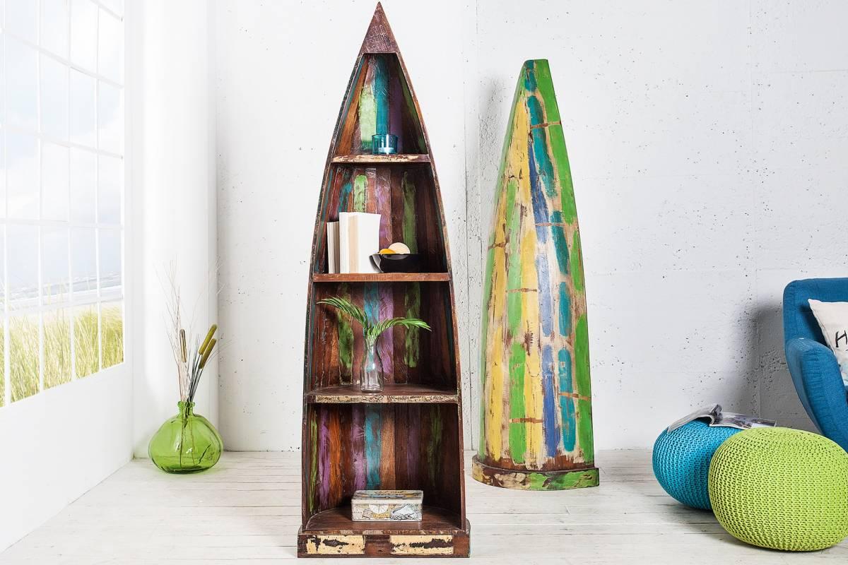 Regál BOOTS 190 cm - viacfarebná